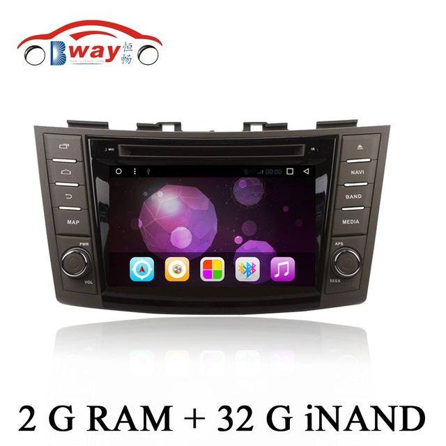 "Free shipping 7"" car-styling Android 6.0 car radio for Suzuki Swift 2011-2012 car dvd player with steering-wheel,GPS,bluetooth"