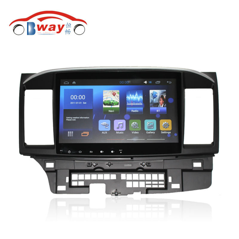 Free shipping 10.2. Car dvd gps for MITSUBISHI Lancer 2014 Quadcore Android 6.0 car Radio with 1 G RAM,16G iNand,steering wheel - Trivoshop