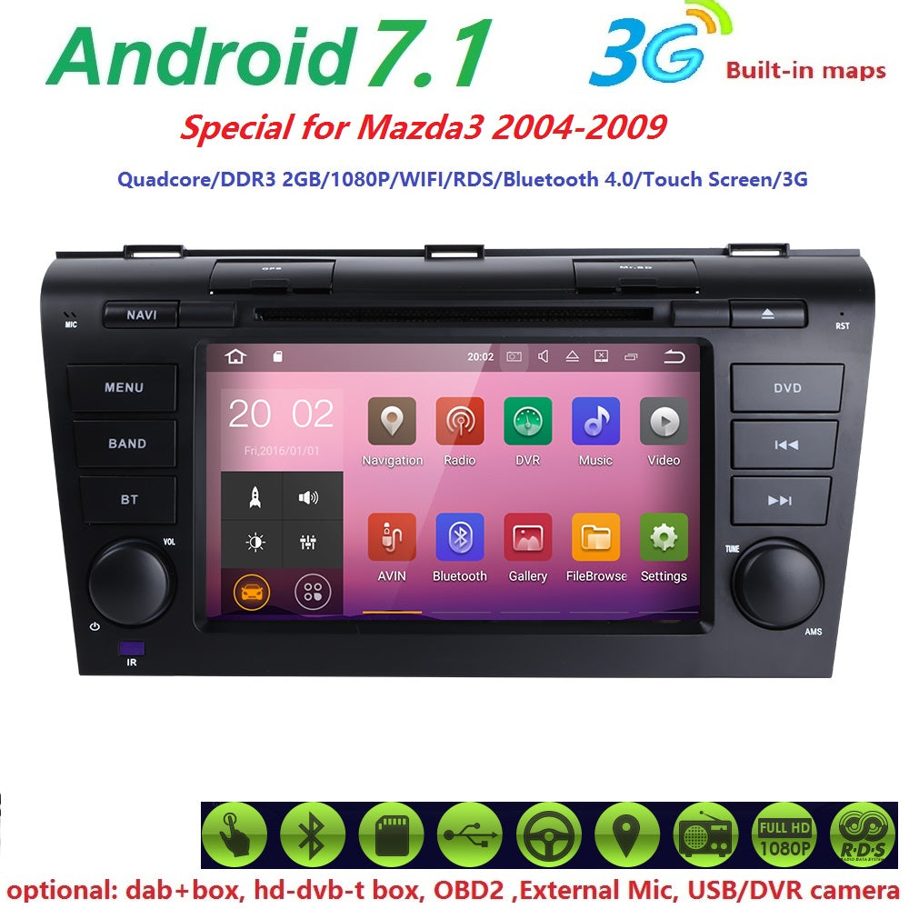 Car Monitor DVD Player Navigation