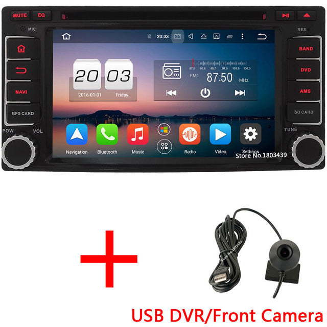 Car DVD Multimedia Player