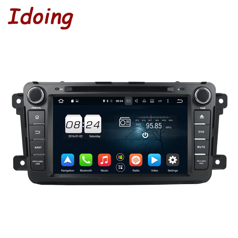 Idoing 2Din Android6.0 For Mazda CX9 Car DVD Player 8.GPS Navigation 2G RAM 32G ROM Phone Link Bluetooth RDS Car Radio Fast Boot - Trivoshop