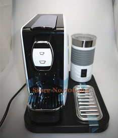 Nespresso capsule Fully-automatic coffee machine with electric foam maker espresso electric cappuccino/latte coffee maker - Trivoshop
