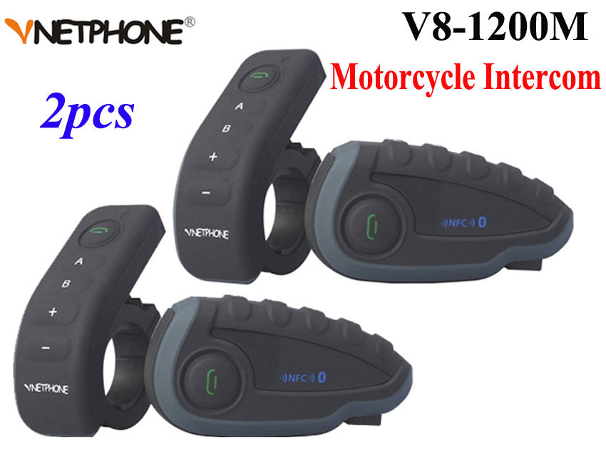 Motorcycle Helmet Intercom - Trivoshop
