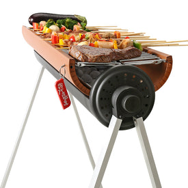 Outdoor Portable Barbecue Rack, BBQ Tools For More than 5 People, Charcoal Barbecue Set - Trivoshop