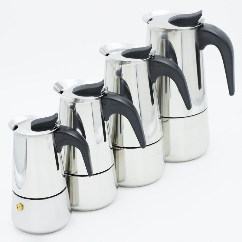 Moka Espresso Coffee Maker Latte Piano Cottura Filtro Coffee Machine Coffee Pot Percolator Tools Cafetiere Coffee Maker Pot