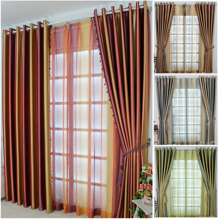 Curtains for modern living room