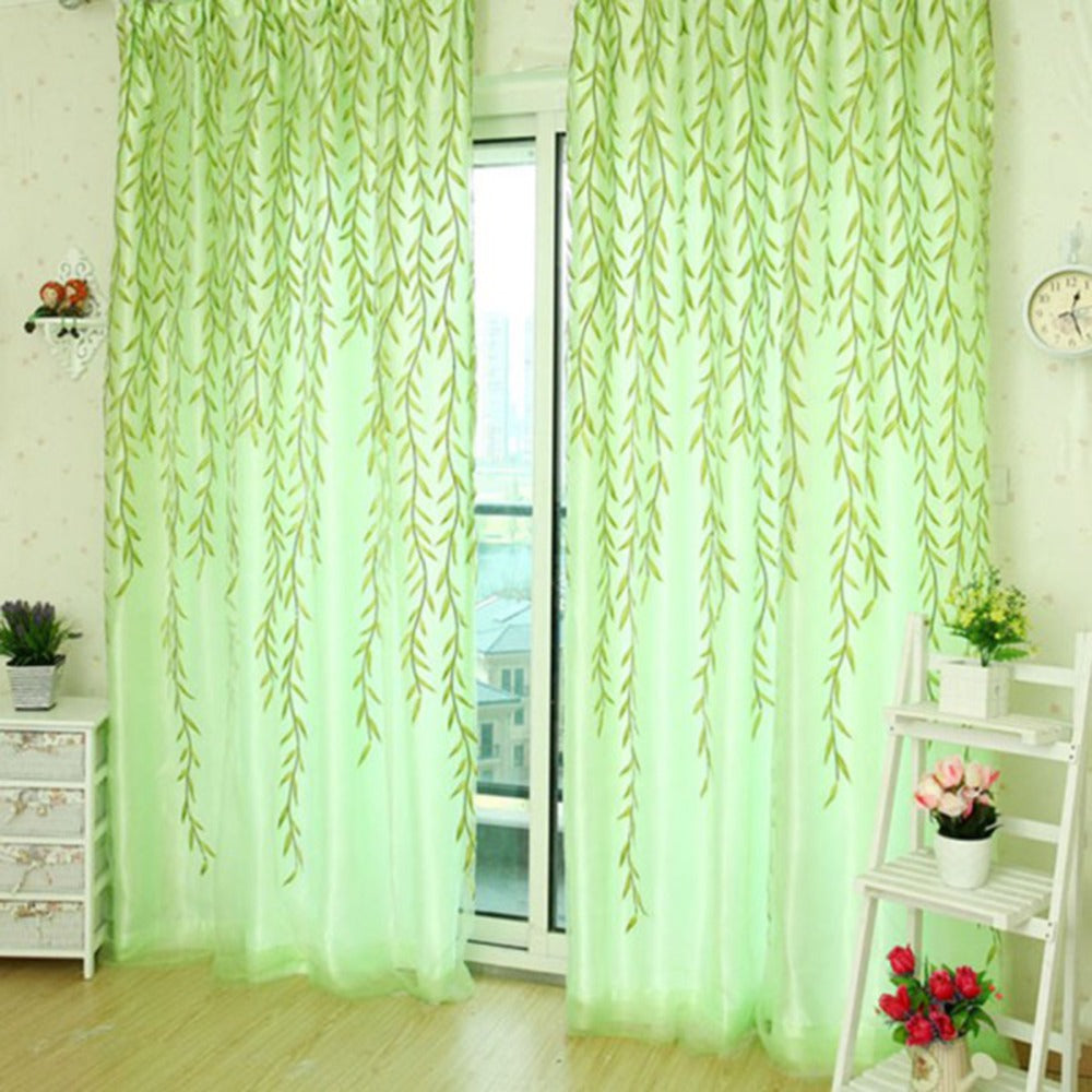 Home Textile Tree Willow Curtains