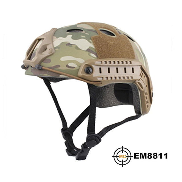 Durable Airsoft Helmet MultiCam for Hunting