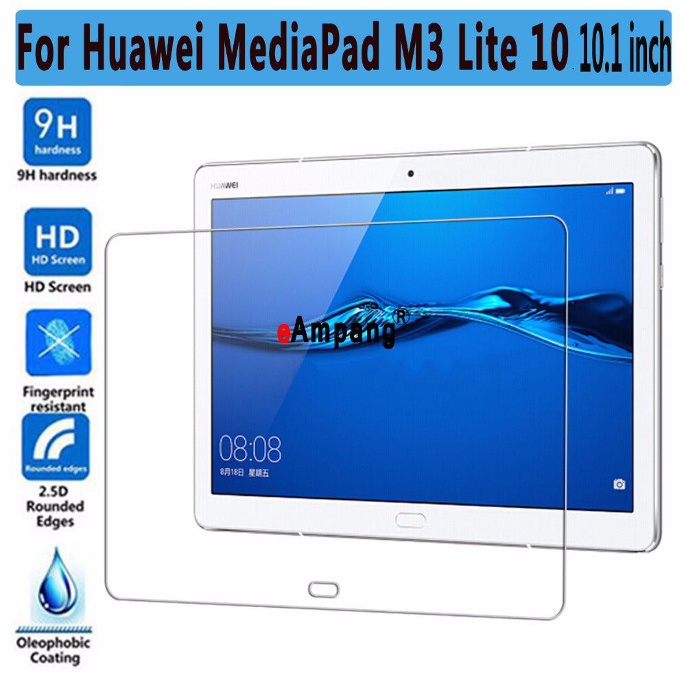 Screen Protector Tempered Glass For Huawei Mediapad M3 Lite 10 10.1 inch Thin Tablet PC Screen Protector For Huawei M3 Lite 10