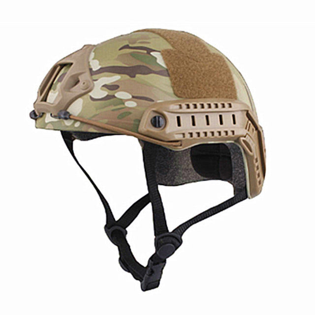 Sports Helmets Military Airsoft Helmet Combat FAST Helmet MH TYPE Economy Version Multicam Black for Hunting Fast Shipping - Trivoshop