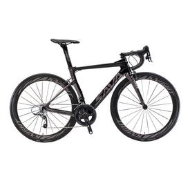 SAVA Phantom 5.0 700C Carbon Fiber Road Bike Cycling Bicycle SRAM FORCE 22 Speed Group Set HUTCHINSON 25C Tire Fizik Saddle