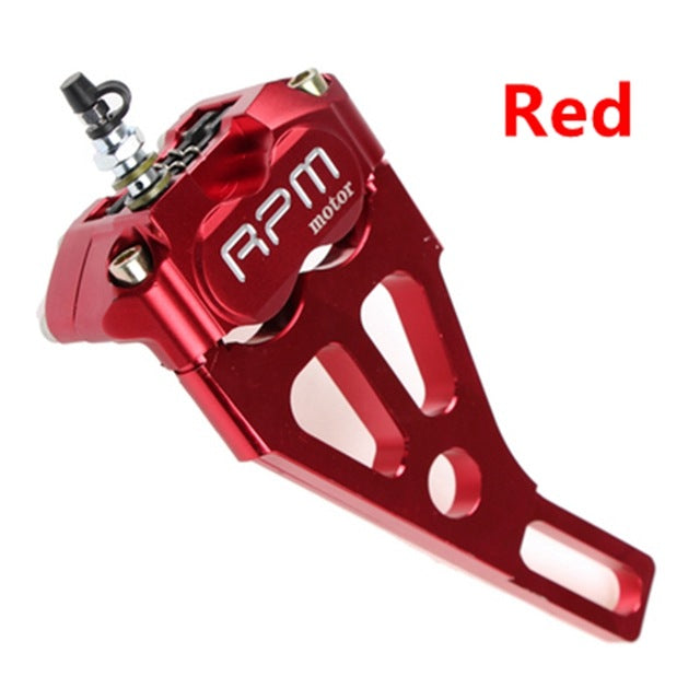 Motorcycle modification electric motorcycle four piston brake calipers pump RPM 220 for WISP RSZ Turtle King small radiation - Trivoshop
