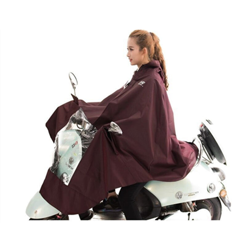 NEW Electric motorcycle bicycle bike  Conjoined raincoat women Electrombile rain coat poncho Single-person Rainwear - Trivoshop