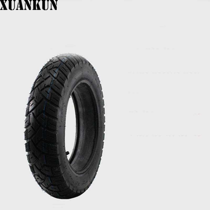 XUANKUN Motorcycle Tire 3.00-10 300-10 Electric Motorcycle Tire Tubeless Tires - Trivoshop