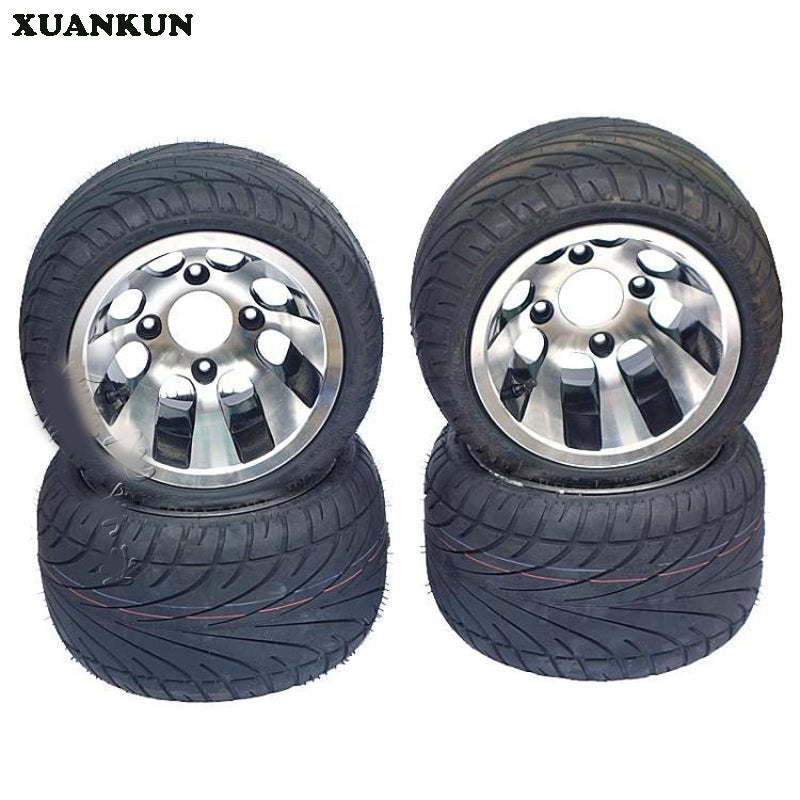 XUANKUN Four Rounds Of Electric Motorcycle Karts Modified ATV 235 / 30-10 Inch Flat Tire Aluminum Wheels - Trivoshop