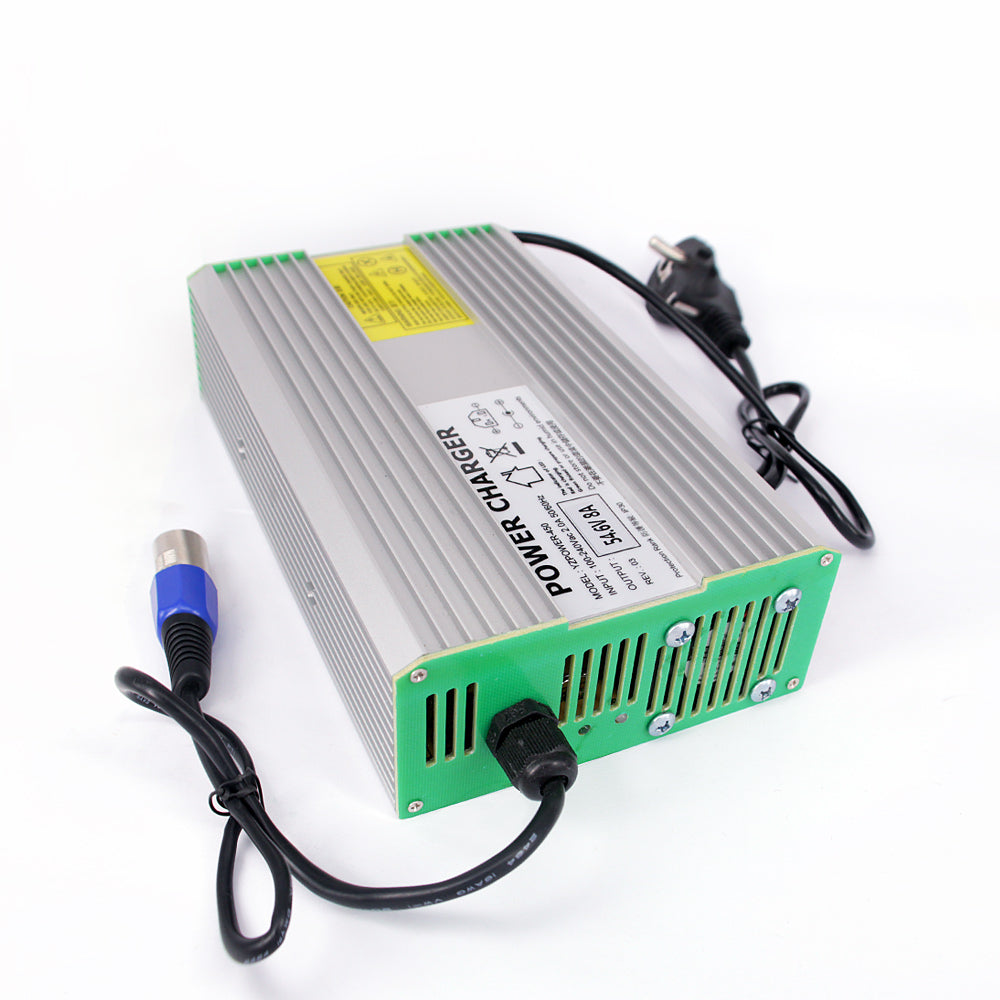 YZPOWER 58.8V 6A 7A 8A Lithium Battery Charger for 48V Lithium Battery Electric Motorcycle Ebikes - Trivoshop
