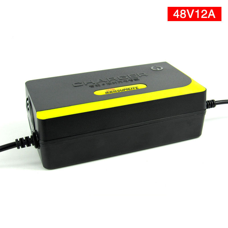 High Quality 48V 12AH Electric Bicycle Motorcycle Charger Smart Power Supply Lead Acid Battery Charger 48V 1.8A For 12AH 20AH - Trivoshop