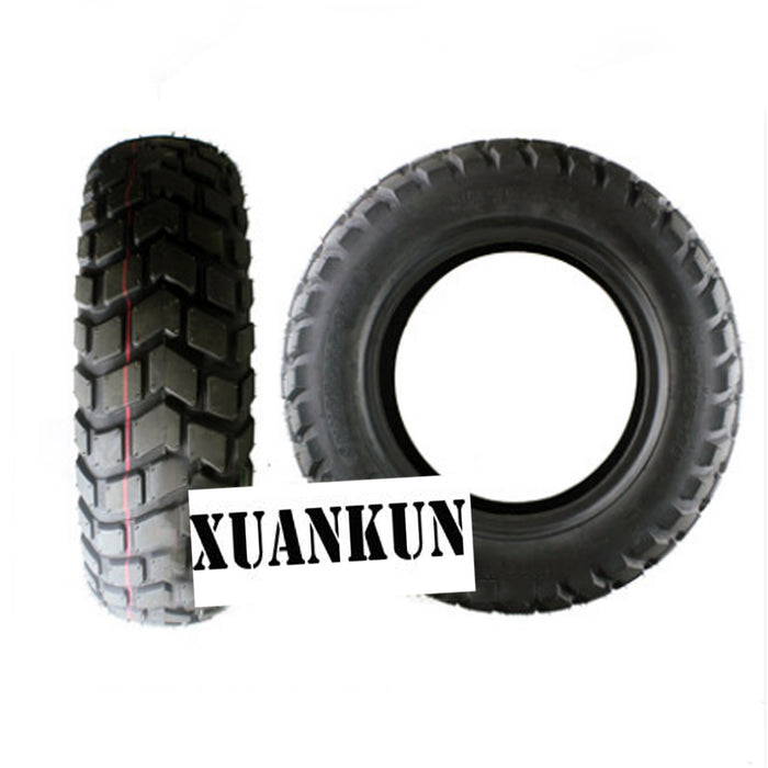 XUANKUN Motorcycle Refitted Tire 130/90-10 Motorcycle Electric Car Electric Friction Vacuum Tire - Trivoshop