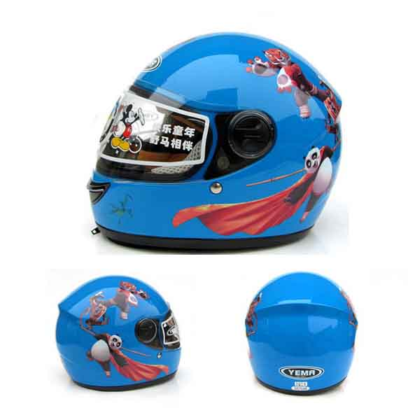 children motocross full face helmet