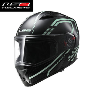 100% original LS2 ff324 full-face motorcycle helmet multi-function helmet dual lens anti-fog motorcycle helmet LS2 milight moto - Trivoshop.com