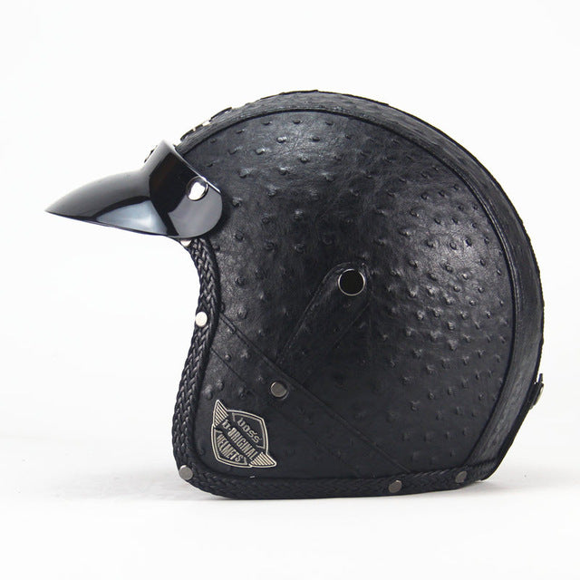 Leather Harley Helmets - Trivoshop
