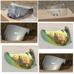free shipping A G v  K3 K4 VISOR FULL FACE MOTORCYCLE HELMET LENS FACE SHIELD Racing  Colors Black  clear  Silver  Rainbow