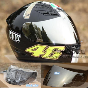 free shipping K3 K4 VISOR FULL FACE MOTORCYCLE HELMET LENS FACE SHIELD Racing Colors Black clear Silver Rainbow  helmet viler