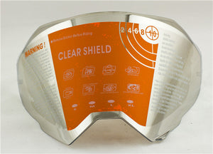 free shipping motorcycle helmet shield only suitable for our own helmet ATV motocross helmet lens