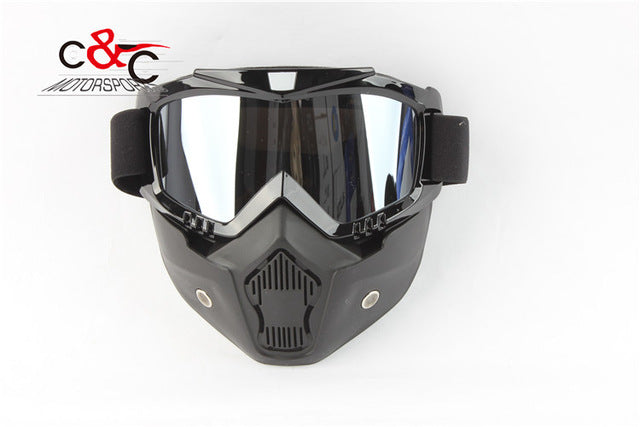 Face Motorcycle Half Helmet