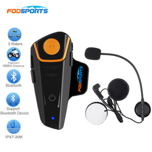 Fodsports BT-S2 Motorcycle Helmet Bluetooth Intercom