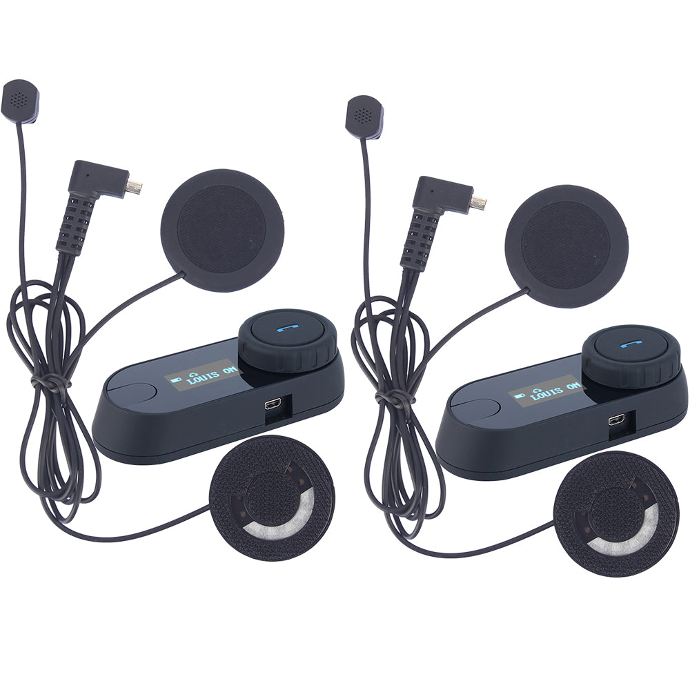 Bluetooth Motorcycle Helmet Intercom - Trivoshop
