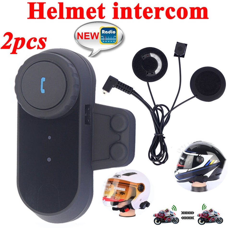 Bluetooth Interphone Headset