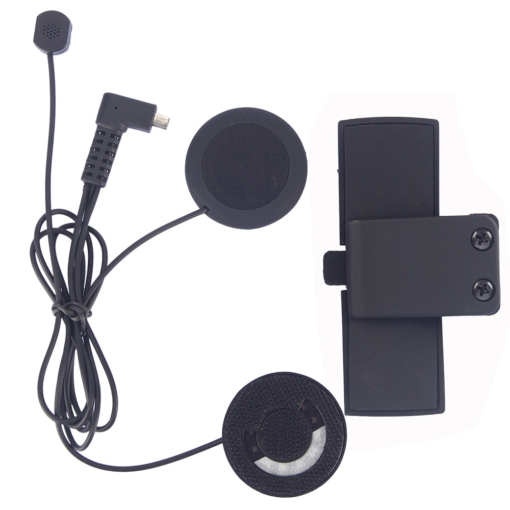 Soft Earphone & Clip Accessories Suit for COLO Series Motorcycle Helmet Bluetooth Interphone Fast Shipping! - Trivoshop