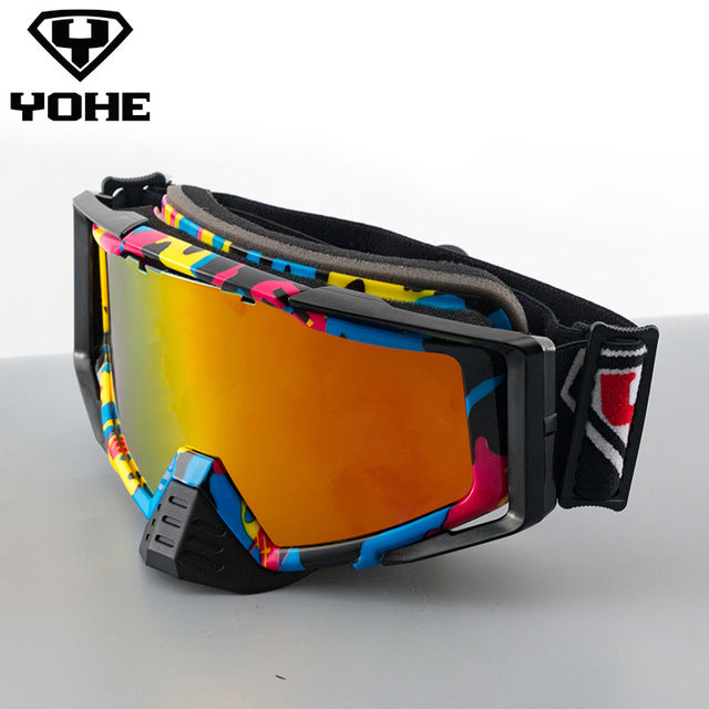 YOHE-YH-138 Motorcycle Helmet Sunglasses Visor /Wind Shield glass visor motorcycle glasses goggles motorcycle - Trivoshop