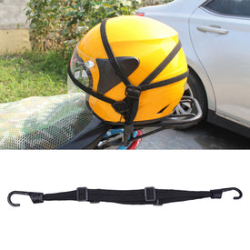 Motorcycle Helmet Luggage Fix Rope