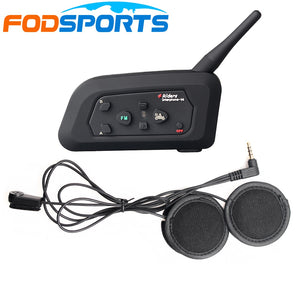 Fodsports V4 Motorcycle Helmet bluetooth Intercom