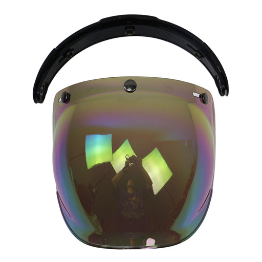 motorcycle helmet glass Flip Up base helmet bubble shield/windshield 3pin connection windproof glass uni-sex multi color