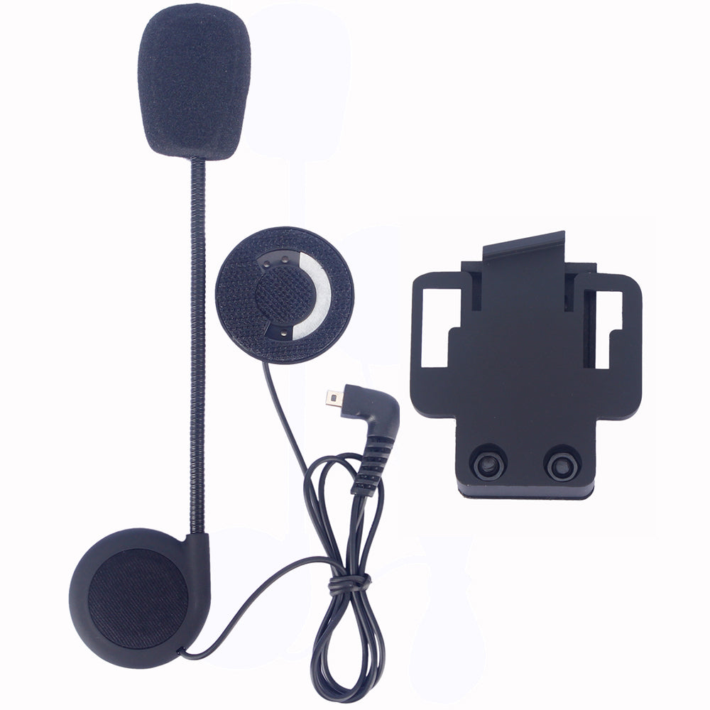 Helmet intercom accessories,earphone & microphone and clip suitable for FDCVB T-COMVB COLO motorcycle helmet intercom - Trivoshop