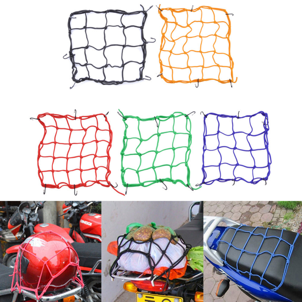 Motorcycle Helmet Net Mesh for Storage Carrier Bags