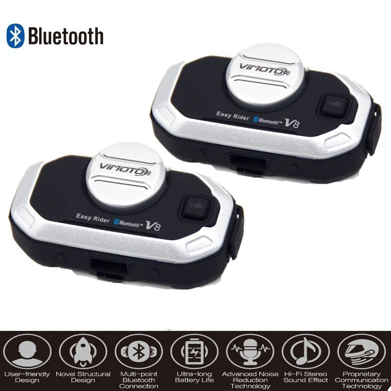 Motorcycle Bluetooth Stereo Headset