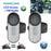 FreedConn 2PCS LCD Screen FM Function 3Riders Hi-Fi Speaker Motorcycle Intercom BT Bluetooth Wireless Interphone Helmet Headset - Trivoshop
