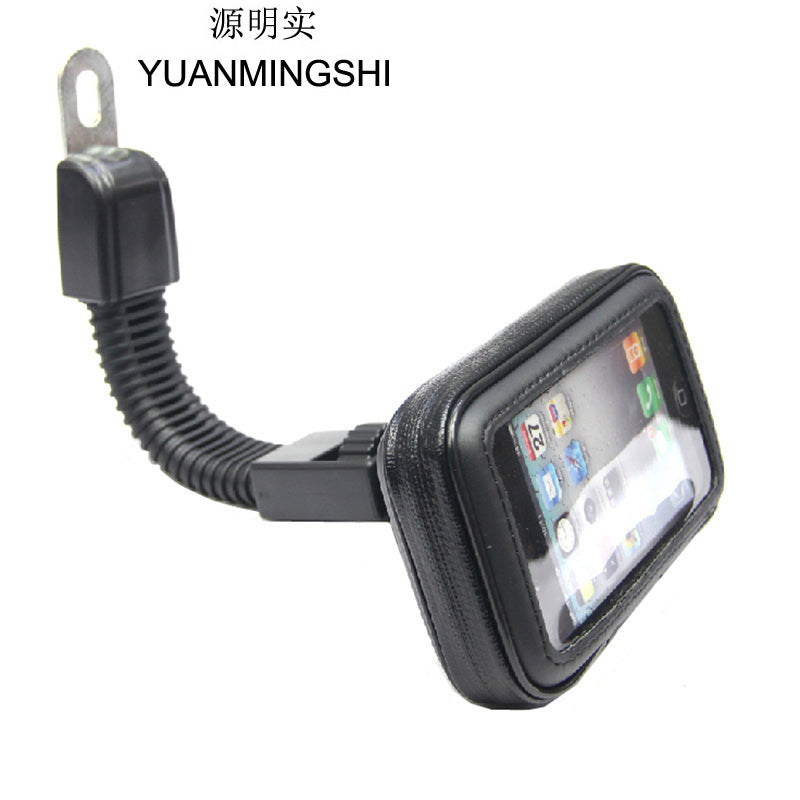 YUANMINGSHI Cycling Waterproof Bag With Motorcycle Phone Holder Mount Support GPS Navigation Bracket Smartphone Holder