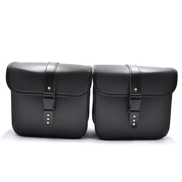 Leather Motor Luggage Bag