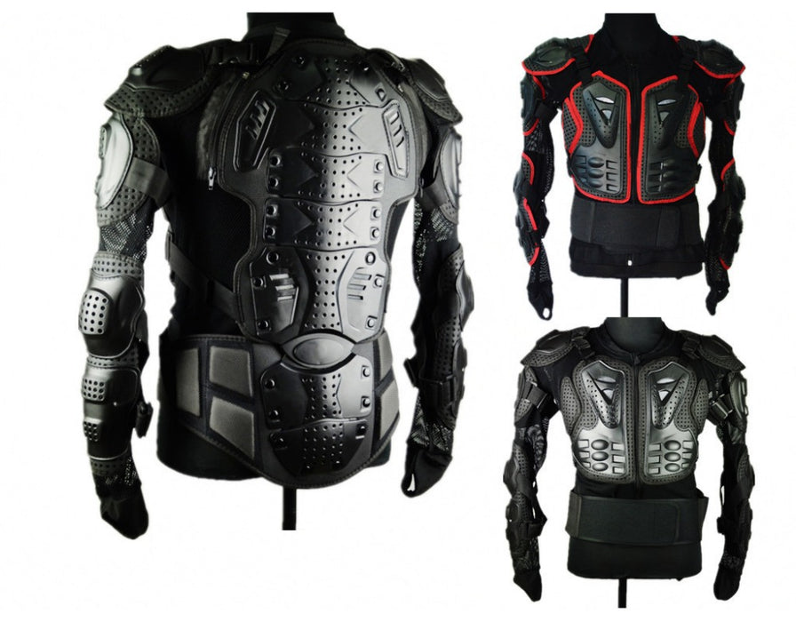 Motorcycle Body Protection Motorcross Racing Full Body Armor Spine Chest Protective Jacket Gear - Trivoshop