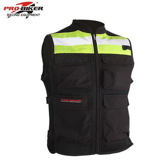 Riding Tribe Reflective Desgin Waistcoat Clothing Motocross Off-Road Racing Vest Motorcycle Touring Night Riding biker jacket
