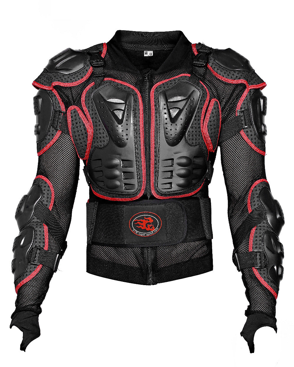 Motorcycle back protector shoulder protection chest protection jacket protective clothing - Trivoshop