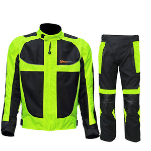 1 SET Riding Tribe Jacket&Pants High Quality Motorcycle Racing Jacket Summer Oxford Motocross Riding Suits Clothing Pants - Trivoshop.com