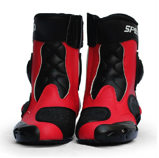 Riding Tribe Waterproof Motorcycle Boots Microfiber Leather Men Professional Motocross Racing Boot Motorbike boots - Trivoshop