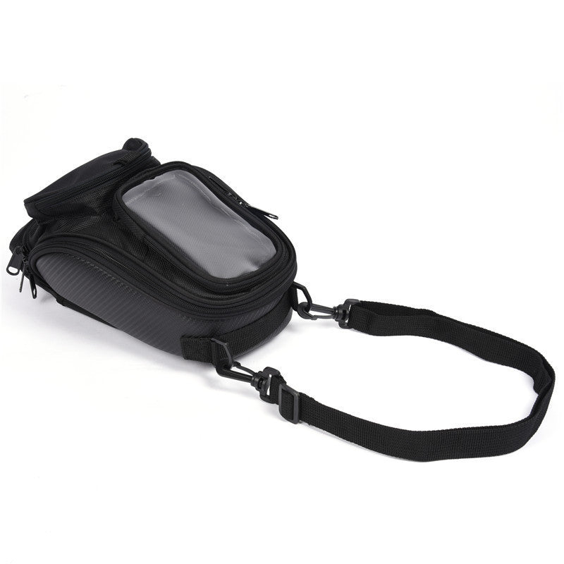 Motorcycle Convenient Tank Oil Fuel Magnet Bag Outdoor Sports Oxford Waterproof GPS Phones Saddle Bags Legs Bag Luggage - Trivoshop