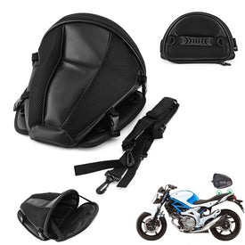 Motorcycle Motocicleta Bike Sports Waterproof Back Seat Carry Bag Storage Saddlebag Portable